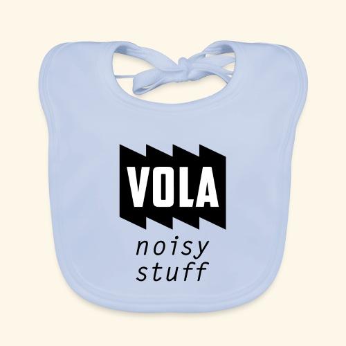 Vola Noisy Stuff - Vauvan luomuruokalappu