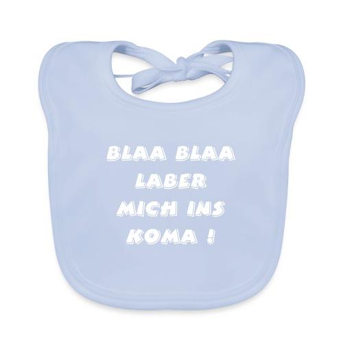 lustiger blöder text - Baby Bio-Lätzchen