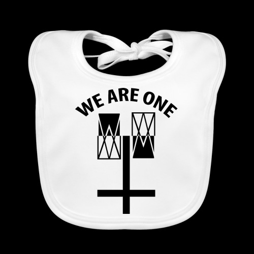 WE ARE ONE x CROSS - Bio-slabbetje voor baby's