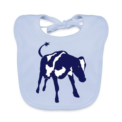 Staande koe vector - Bio-slabbetje voor baby's