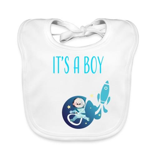 It's a Boy! Witzige süße Umstandsmode T-Shirt - Baby Bio-Lätzchen