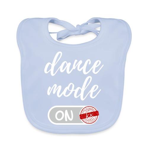 dance mode w - Baby Bio-Lätzchen