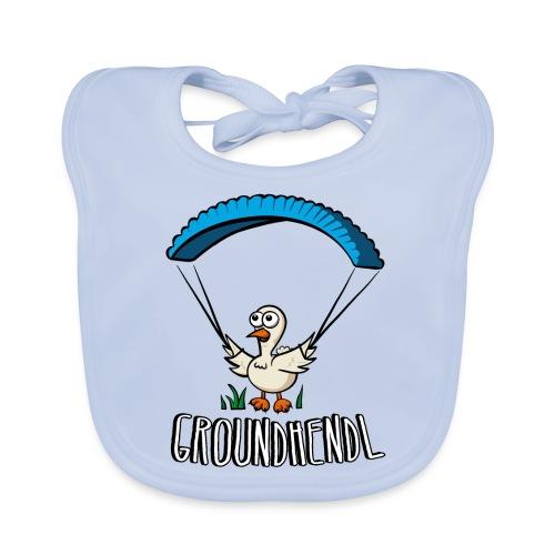 Groundhendl Groundhandling Hendl Paragliding Huhn - Baby Bio-Lätzchen
