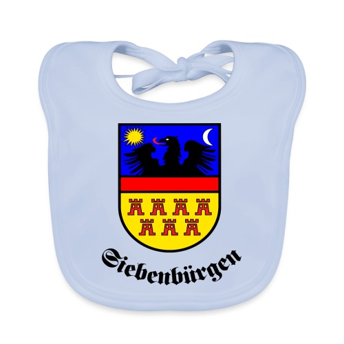 Siebenbürgen-Wappen Siebenbürgen - Baby Bio-Lätzchen