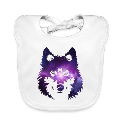 Galaxy wolf - Bavoir bio Bébé
