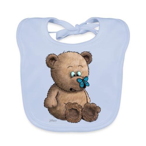 Teddybär - Baby Bio-Lätzchen