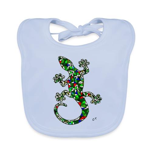 lucertola - Bavaglino ecologico per neonato