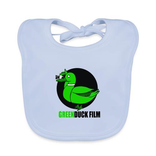 Greenduck Film Logo w. black letters - Hagesmække af økologisk bomuld