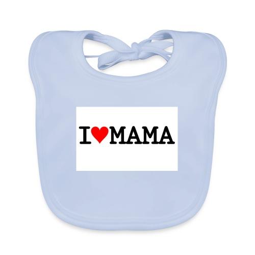 i love mama - Ekologisk babyhaklapp
