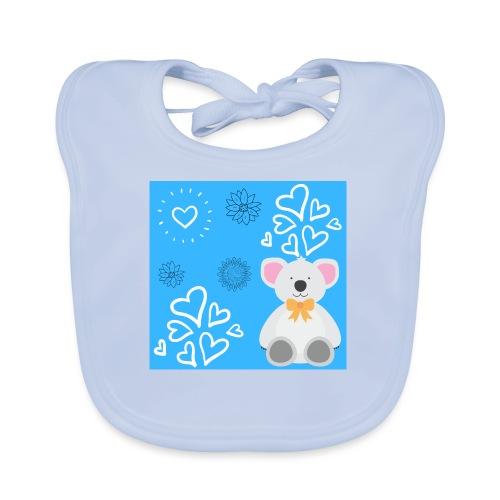 I LOVE ORSETTI - Bavaglino ecologico per neonato