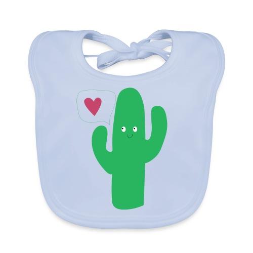 Cute cactus - Bavoir bio Bébé