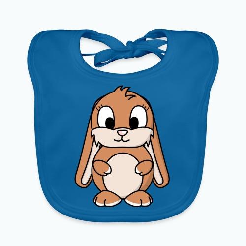Lily Bunny - Appelsin - Ekologisk babyhaklapp