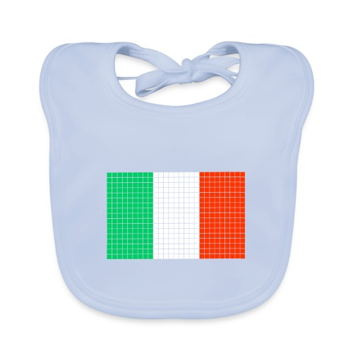 italian flag - Bavaglino ecologico per neonato