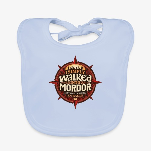 I just went into Mordor - Organic Baby Bibs