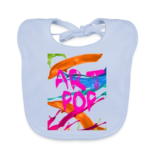 ART POP Carcasa móvil - Babero ecológico bebé