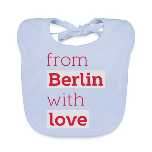 From Berlin with Love - Baby Bio-Lätzchen