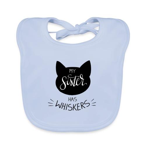 My Sister has Whiskers n°2 - Baby Bio-Lätzchen