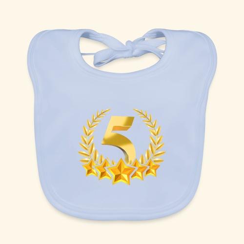 Fünf-Stern 5 sterne - Baby Bio-Lätzchen