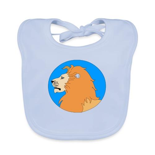 leon - Babero de algodón orgánico para bebés