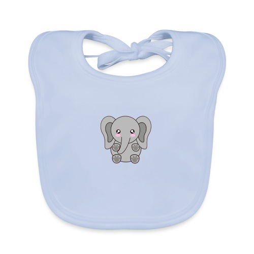 elefante - Baby Organic Bib