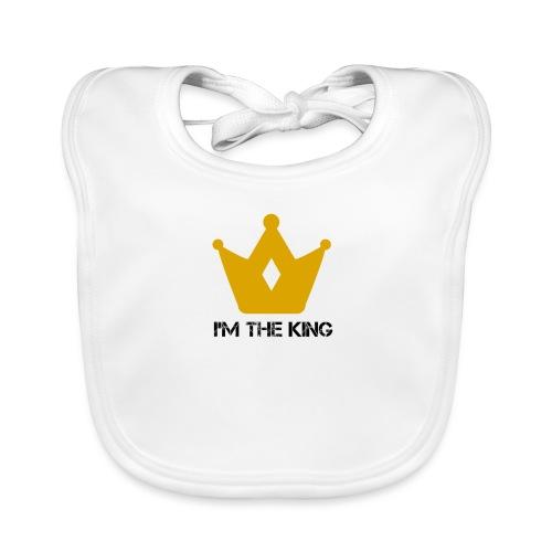 Kuningas - Vauvan luomuruokalappu