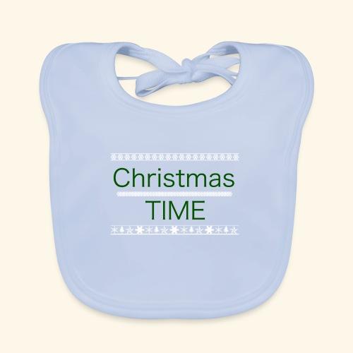 Christmas Time - Baby Bio-Lätzchen