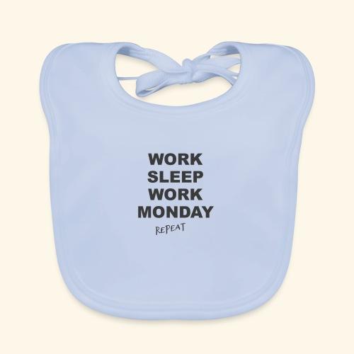WORK SLEEP Work - Baby Bio-Lätzchen