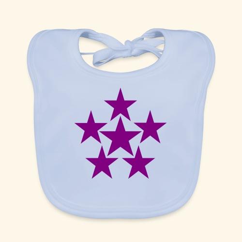 5 STAR lilla - Baby Bio-Lätzchen