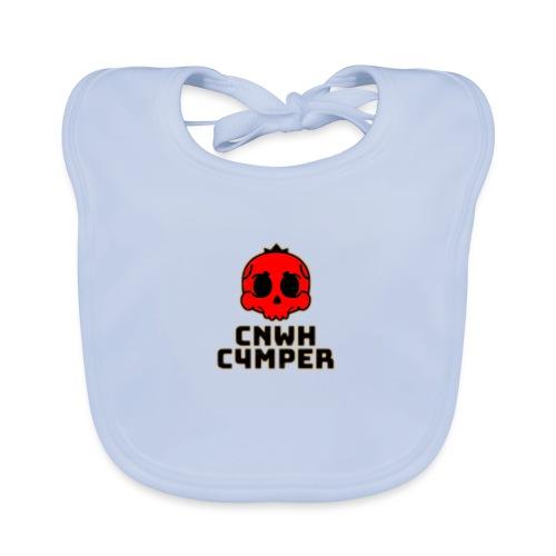 CnWh C4mper Merch - Ekologisk babyhaklapp