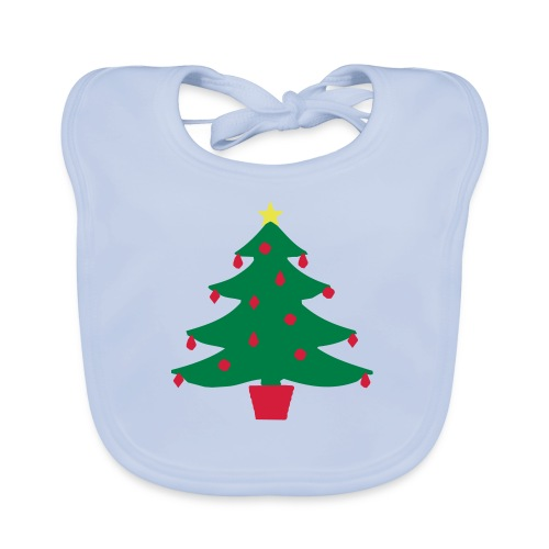 Christmas Tree Cooking Apron - Organic Baby Bibs