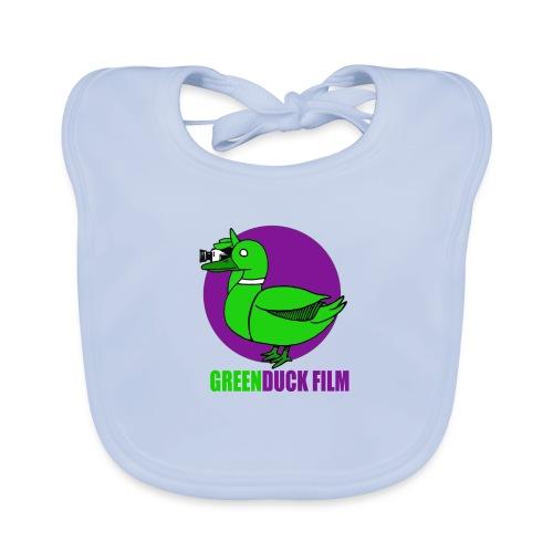 Greenduck Film Purple Sun Logo - Hagesmække af økologisk bomuld