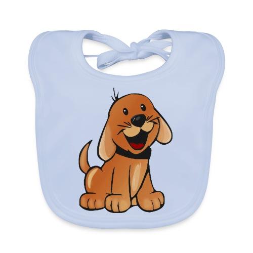 cartoon dog - Bavaglino ecologico per neonato