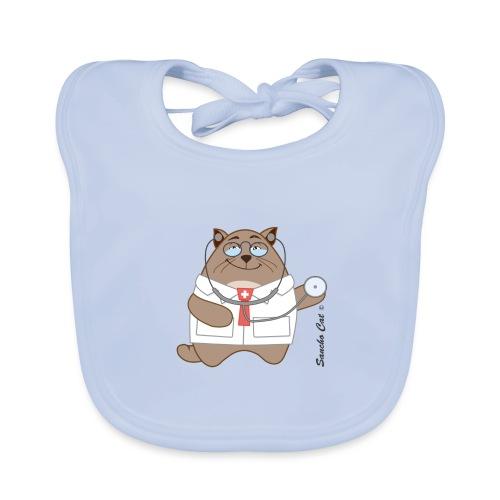 Katzen Arzt - Sancho Cat © - Baby Bio-Lätzchen