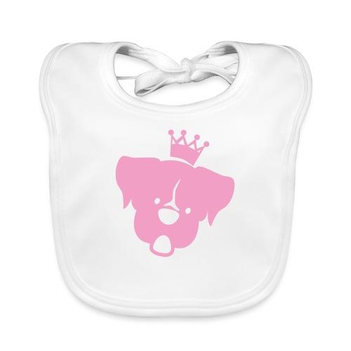 Prinz Poldi rosa - Baby Bio-Lätzchen