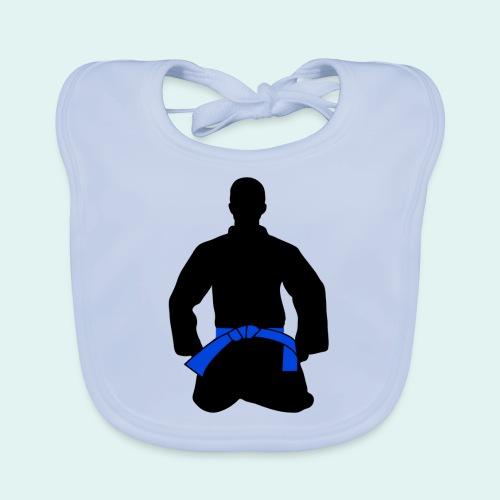 Judo Blaugurt - Baby Bio-Lätzchen