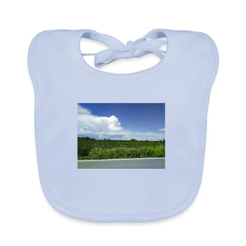 prato verde - Bavaglino ecologico per neonato