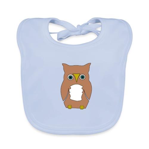 Derpi Owl - Baby Bio-Lätzchen