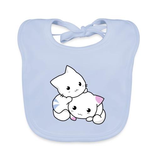 sweet cats - Baby Bio-Lätzchen
