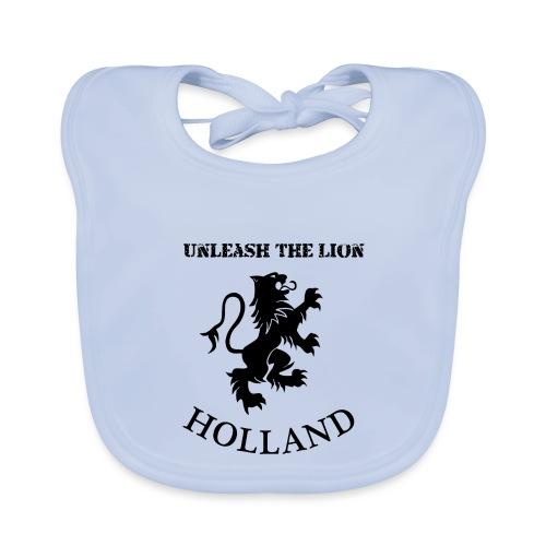 HOLLAND Unleash the LION - Bio-slabbetje voor baby's