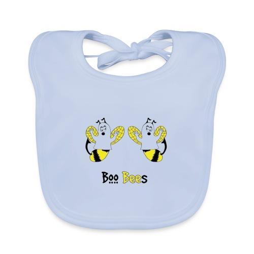 Boo Bees Halloween - Vauvan luomuruokalappu