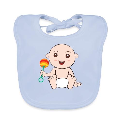 Glückliches Baby - Baby Bio-Lätzchen
