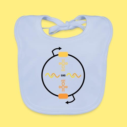 Biocontainment tRNA - shirt men - Bio-slabbetje voor baby's