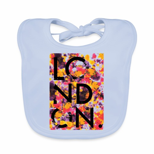 London Art - Baby Organic Bib
