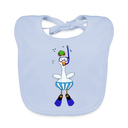 Snorkel Duck - Baby Organic Bib