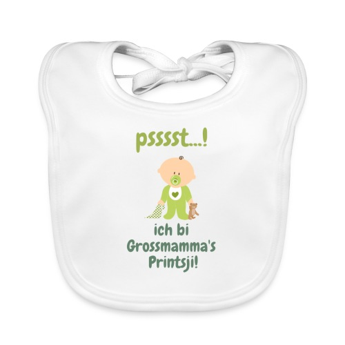 Grossmamma's Printsji - Baby Bio-Lätzchen