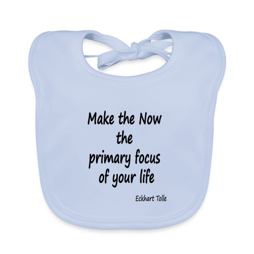 Now focus - Baby Organic Bib