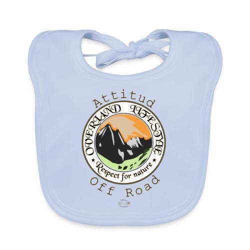 24 Overland LifeStyle - Babero de algodón orgánico para bebés