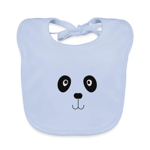 Panda ogen - Bio-slabbetje voor baby's