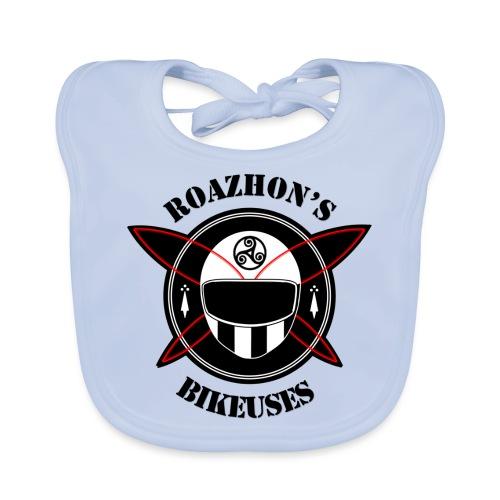 Roazhon's Bikeuses Rennes - Bavoir bio Bébé