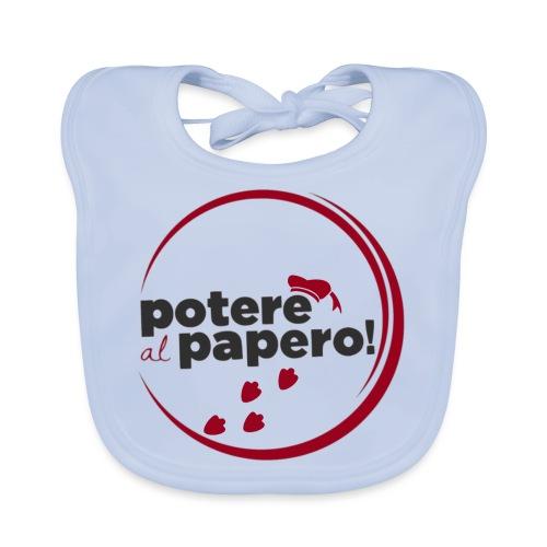 Potere al Papero - Bavaglino ecologico per neonato